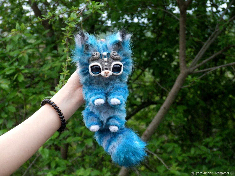 Маленький полосатый котенок , Мягкие игрушки, Майкоп,  Фото №1