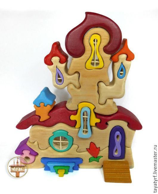 Развивающие игрушки ручной работы. Ярмарка Мастеров - ручная работа. Купить Дом принцессы гномов. Handmade. Комбинированный, домик