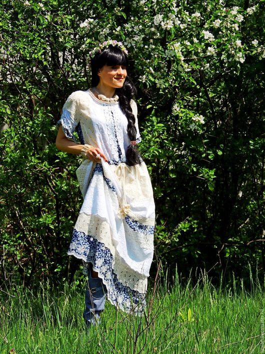 платье макси, платье летнее, платье бохо, бохо платье, стиль бохо, романтичный стиль, романтичное платье