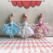 Куклы и игрушки handmade. Livemaster - original item Doll: Little BALLERINAS. Handmade.