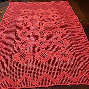 Для дома и интерьера ручной работы. Ярмарка Мастеров - ручная работа Салфетка-дорожка на стол в филейной технике. Handmade.