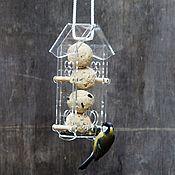 Дача и сад handmade. Livemaster - original item Hanging bird feeder. Handmade.