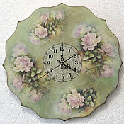 Для дома и интерьера handmade. Livemaster - original item Wall clock. large.