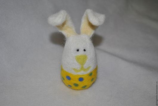 Игрушки животные, ручной работы. Ярмарка Мастеров - ручная работа. Купить Пасхальный кролик. Handmade. Белый, пасхальный декор, кролик