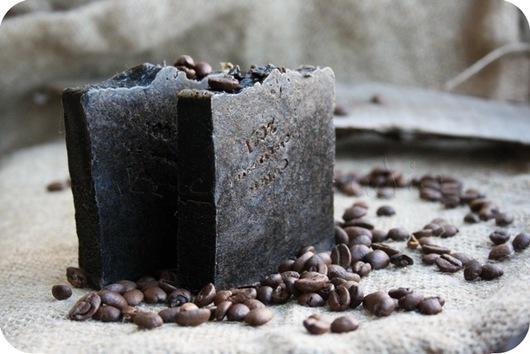 """Мыло ручной работы. Ярмарка Мастеров - ручная работа. Купить Мыло-скраб с нуля """"Пряный кофе"""". Handmade. Черный, гвоздика"""