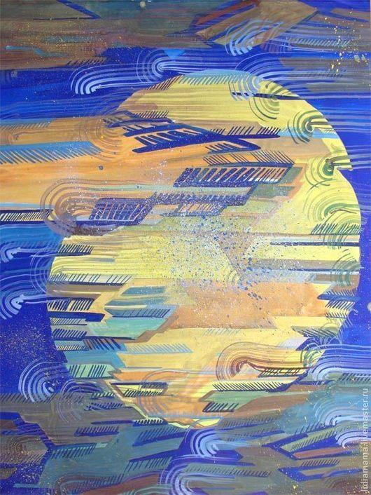 Картина. Луна\r\nработа Ольги Петровской-Петовраджи