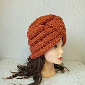 Аксессуары handmade. Livemaster - original item Red hat