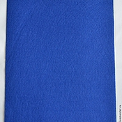 Материалы для творчества handmade. Livemaster - original item The soft felt sheet 1 mm 20 x 30 color cornflower YF703. Handmade.