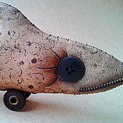 Куклы и игрушки ручной работы. Ярмарка Мастеров - ручная работа Рыба.. Handmade.