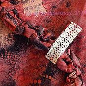 Одежда ручной работы. Ярмарка Мастеров - ручная работа Юбка Бохо джинс. Handmade.