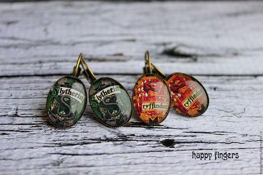 """Серьги ручной работы. Ярмарка Мастеров - ручная работа. Купить Серьги """"Гарри Поттер"""", 9 и 3 четверти, Harry Potter. Handmade."""
