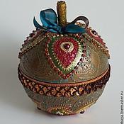 Для дома и интерьера ручной работы. Ярмарка Мастеров - ручная работа Яблоко-шкатулка. Handmade.