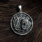 Русский стиль handmade. Livemaster - original item Velez symbol-double-sided (3 cm). Handmade.