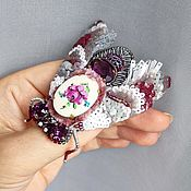 Украшения handmade. Livemaster - original item Pin brooch