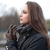 Пальто ручной работы. Ярмарка Мастеров - ручная работа Пальто из серого сукна Шинель. Handmade.