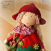 Куклы и игрушки ручной работы. Ярмарка Мастеров - ручная работа Красная шапочка Текстильная кукла. Handmade.
