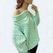 """Одежда ручной работы. Ярмарка Мастеров - ручная работа Вязаный свитер """"МЕЧТА"""" (в стиле :-)) аля Рубен)100%меринос. Handmade."""