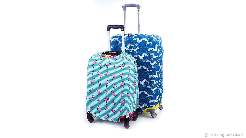 Чехол на чемодан, Сумки и аксессуары, Москва,  Фото №1