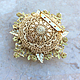 Brooch No. №5 from the collection 'Return'. Brooches. Simkha - Jewelry For Joy. Online shopping on My Livemaster.  Фото №2