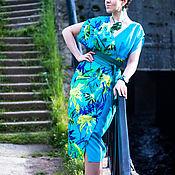 Платья ручной работы. Ярмарка Мастеров - ручная работа Платье-халат летнее. Handmade.