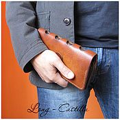 Сумки и аксессуары handmade. Livemaster - original item Purse genuine leather