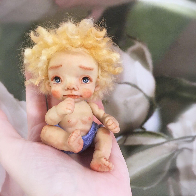 Кукла текстильная ручной работы, Куклы и пупсы, Казань,  Фото №1