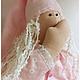 Куклы Тильды ручной работы. Ярмарка Мастеров - ручная работа. Купить Сонный ангелочек - девочка. Handmade. Для сладких снов