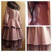 Одежда ручной работы. Ярмарка Мастеров - ручная работа Пальто для принцессы. Handmade.
