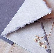 """Канцелярские товары ручной работы. Ярмарка Мастеров - ручная работа """"Anemone""""- бумага  и конверты ручной работы. Handmade."""