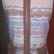 Одежда ручной работы. Ярмарка Мастеров - ручная работа Жилет женский, вязаный. Handmade.