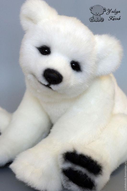 Мишки Тедди ручной работы. Ярмарка Мастеров - ручная работа. Купить Nanook полярный медвежонок. Handmade. Белый