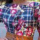 Платье в клетку. Платья. Ирина Ковалик. Интернет-магазин Ярмарка Мастеров.  Фото №2