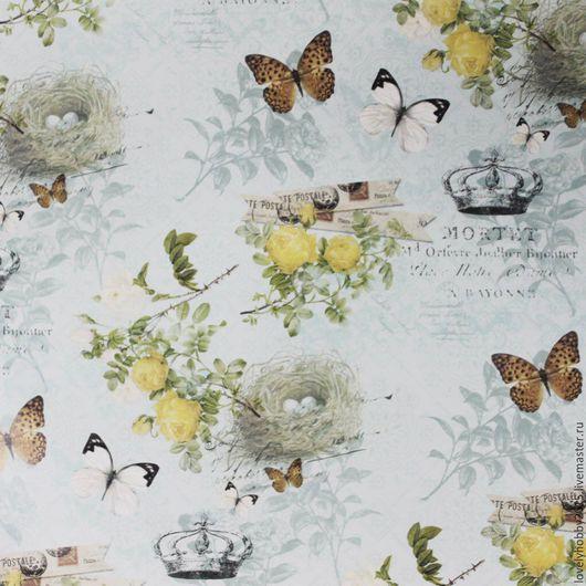 6  Бабочки над гнездом