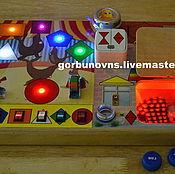 Куклы и игрушки handmade. Livemaster - original item Developing 3D Module Board Basebord