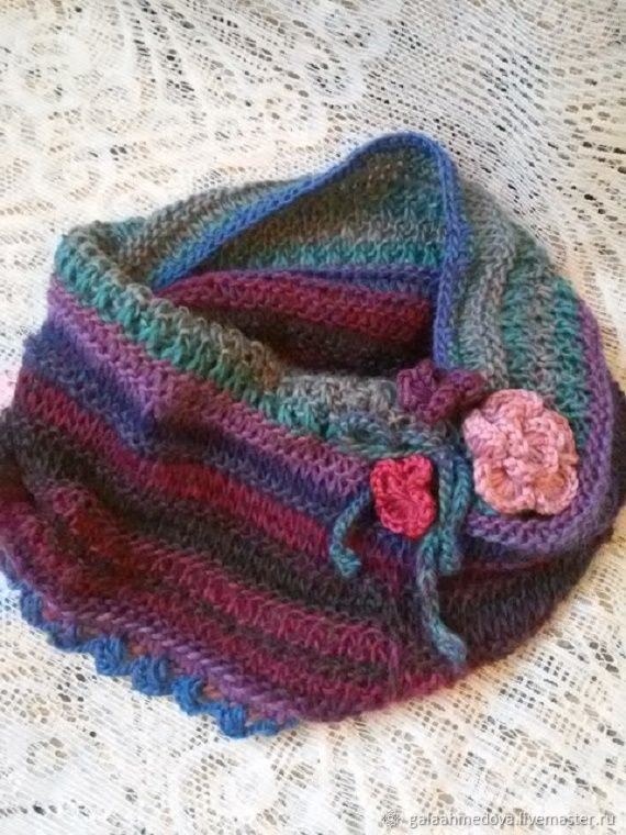 Snood,buy Snood scarf-Snood,tube scarf, knit Snood, handmade, women's Snood a beautiful cowl,scarf, crochet, scarf, gift, female, autumn, knitted Snood, beautiful,for girls, delicate Snood,scarf