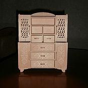 handmade. Livemaster - original item Furniture for dolls: Puppet buffet 1522. Handmade.