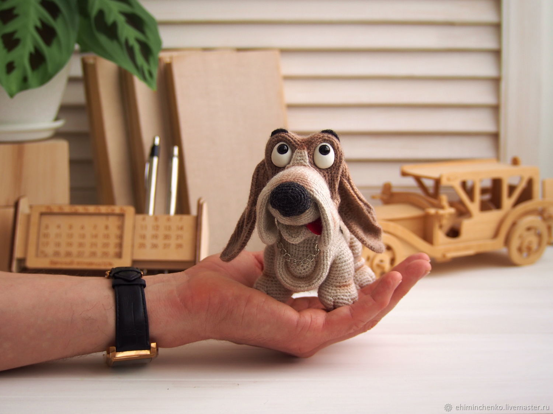 Soft toys: Dog Basset hound, Stuffed Toys, Yoshkar-Ola,  Фото №1