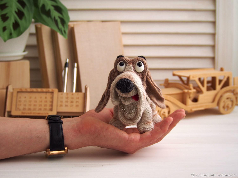 Собака Бассет-хаунд, Мягкие игрушки, Йошкар-Ола,  Фото №1