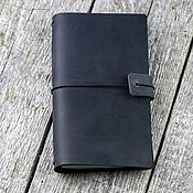 Канцелярские товары handmade. Livemaster - original item Leather travelbook notebook with removable notebooks. Handmade.
