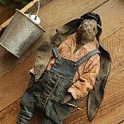 Куклы и игрушки handmade. Livemaster - original item Simon the gardener. Handmade.