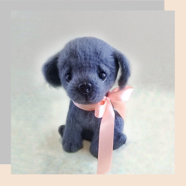 Labrador puppy, Stuffed Toys, Moscow,  Фото №1
