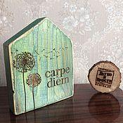 Для дома и интерьера ручной работы. Ярмарка Мастеров - ручная работа Интерьерный домик. Handmade.