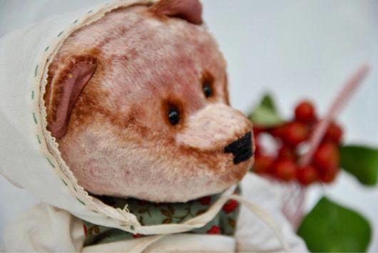 Мишки Тедди ручной работы. Ярмарка Мастеров - ручная работа. Купить Ранетка. Handmade. Бежевый, игрушка ручной работы
