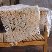 Шали ручной работы. Ярмарка Мастеров - ручная работа Платок из собачьей шерсти. Handmade.