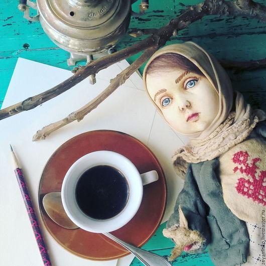 Коллекционные куклы ручной работы. Ярмарка Мастеров - ручная работа. Купить Дарёнка. Деревенская девочка. Авторская уникальная кукла. Handmade.