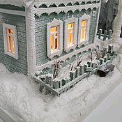Кукольные домики ручной работы. Ярмарка Мастеров - ручная работа Домик с подсветкойСтарый бабушкин сад. Handmade.