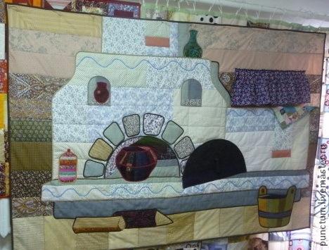 Семейный очаг. Создай свой лоскутный дом. Украсит дачный интерьер. Деревенский русский стиль.