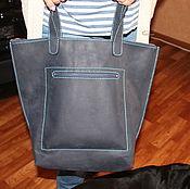 Классическая сумка ручной работы. Ярмарка Мастеров - ручная работа Женская сумка из натуральной кожи. Handmade.