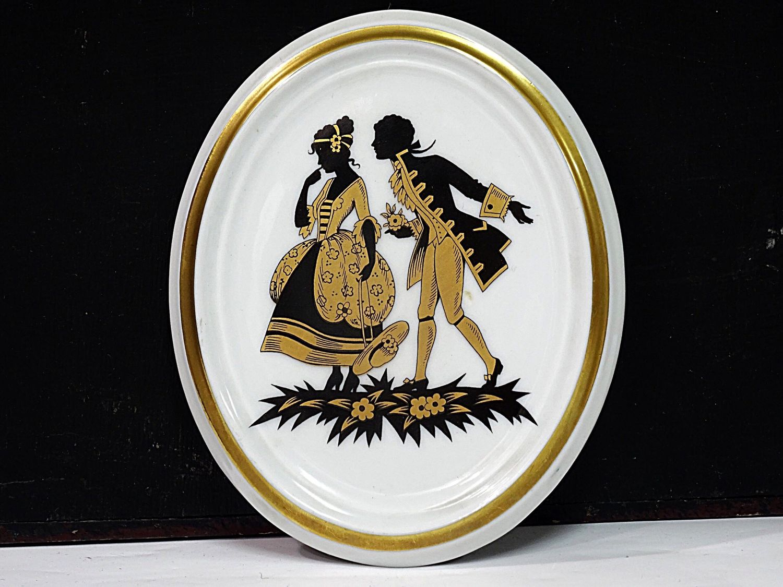 Porcelain plaque, Vintage interior, Kaliningrad,  Фото №1