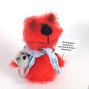 Куклы и игрушки ручной работы. Ярмарка Мастеров - ручная работа Кот Огонек (коты, подарок, вязаная игрушка). Handmade.